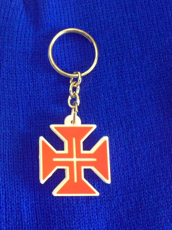 Porta-chaves Cruz de Cristo