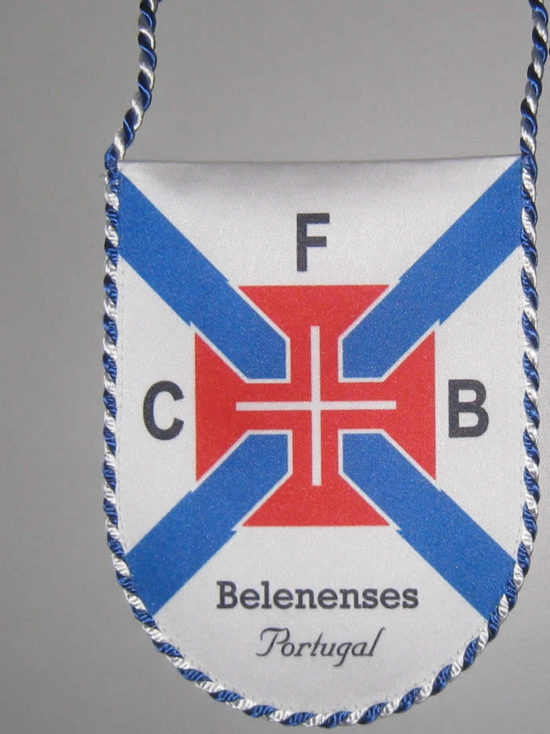 Galhardete do Belenenses branco