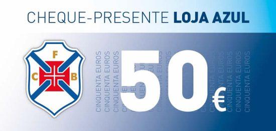 Cheque Oferta de 50€