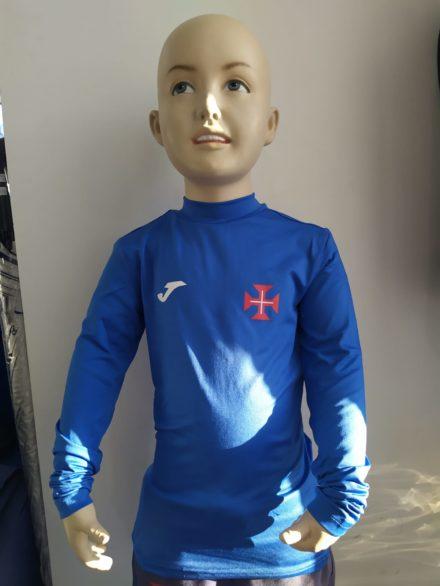 camisola termica azulaocrianca